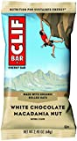 CLIF Bar Macadamia Nut White Chocolate, 12 x 68g