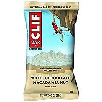 12-Pack Clif BAR White Chocolate Macadamia Energy Bar (2.4 Ounce)