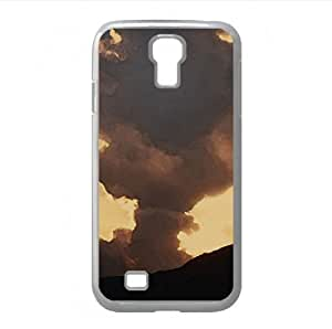 Dramatic Evening Sky Watercolor style Cover Samsung Galaxy S4 I9500 Case (Sun & Sky Watercolor style Cover Samsung Galaxy S4 I9500 Case)