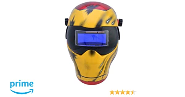 Save Phace 3012503 I Series Iron Man Auto Darkening Welding Helmet - - Amazon.com