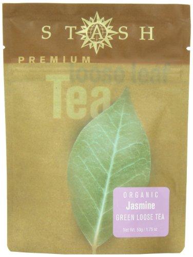 Stash Tea Jasmine Blossom Loose Leaf Tea, 3.5 Ounce Pouch