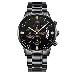 NIBOSI NIBOSI Chronograph Red Dial Men's Watch