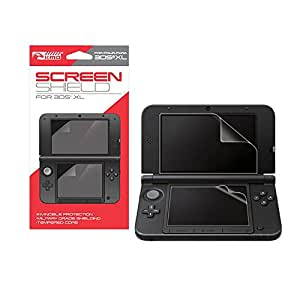 nintendo 3ds xl clear screen protector kmd video games. Black Bedroom Furniture Sets. Home Design Ideas