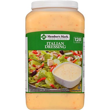 Member's Mark Food Service Italian Dressing (128 fl. oz.) (pack of 6) by Member's Mark