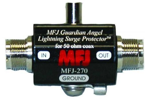 MFJ-270 Lightning arrester DC-1GHz UHF-F//F 400W by MFJ