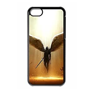 Protection Cover Hard Case Of Angel Cell phone Case For Iphone 5C by icecream design
