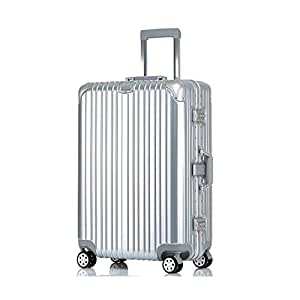 NJC Trolley Case Aluminum Frame Luggage Universal Wheel Suitcase Password Boarding Trolley Case Trolley Case