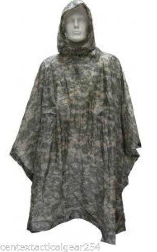 USGI ARMY ISSUE ACU DIGITAL WET WEATHER RAIN PONCHO 8405-01-547-2555 by 4 Star Military Surplus