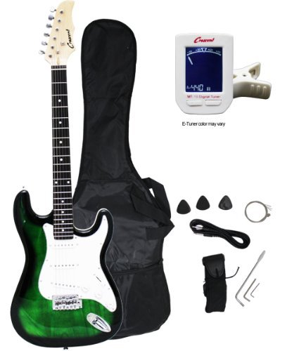 "Crescent EG-TG 39"" Electric Guitar Starter Package - Tran..."