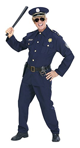 Mens Heavy Fabric Policeman Costume Small Uk 38/40