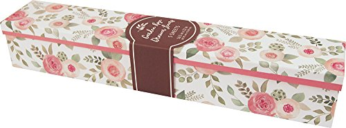 Garden Drawer - The Gift Wrap Company Scented Drawer Liners, 5-Count, Garden Rose
