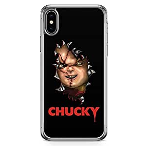 Loud Universe Horror Movie Quote Chucky iPhone XS Case Chucky iPhone XS Cover with Transparent Edges