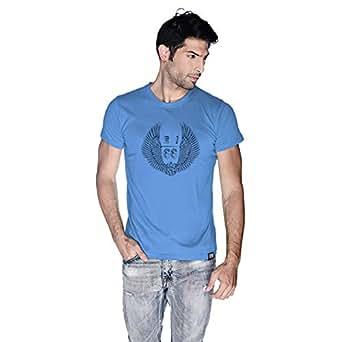 Creo Al Ain Route T-Shirt For Men - L, Blue