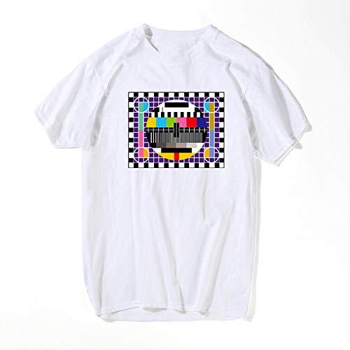 Fashion T-Shirt Men The Big Bang Theory Short Sleeve Cotton Summer Skate Male T Shirts,White,US Size -