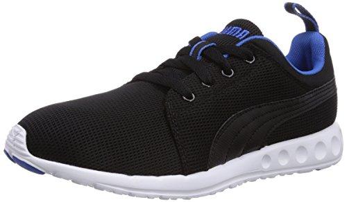Puma - Carson Runner, Scarpe fitness Unisex – Adulto Schwarz (04 Black-strong Blue)