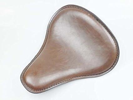 Marrón - cojín de asiento solo Slim de piel sintética gran ...