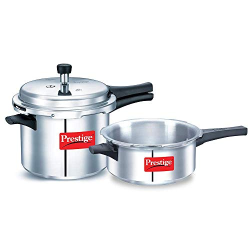 Prestige Special Promotion Pack (Pressure Cooker - 2 Pieces) (B07XZ4RC5Z) Amazon Price History, Amazon Price Tracker