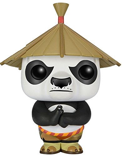 Funko POP Movies: Kung Fu Panda - Po with Hat Action Figure (Fu Kung Figures Panda)