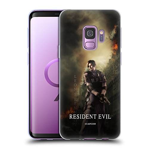 Official Resident Evil Leon S. Kennedy Operation Raccoon City 2 Soft Gel Case for Samsung Galaxy S9 (Resident Evil Operation Raccoon City Best Character)