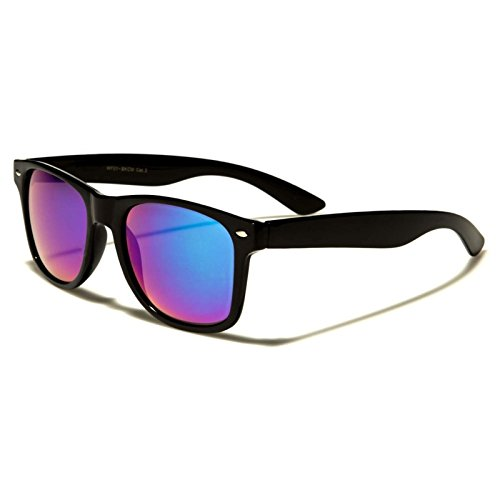 Classic Retro 80s 90s Indie Style Summer Fashion Mirrored Lens - Style Mens Indie