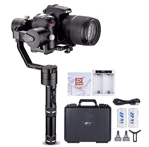 Zhiyun Crane V2 3 Axis Brushless Handheld Gimbal Stabilizer 3 32Bit MCUs Brushless Motors with Encoders for Mirrorless Camera Sony A7 Series Panasonic LUMIX Series Nikon J Series Canon M Series