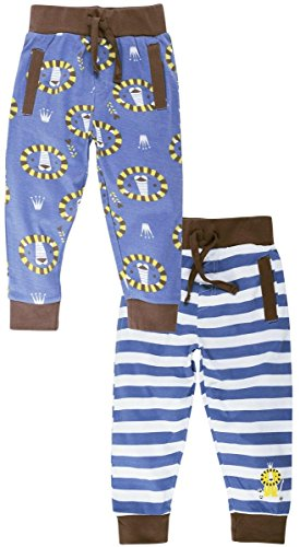 Snuggles Track Pant With Front Pocket Lion Print (Pack Of 2) -...