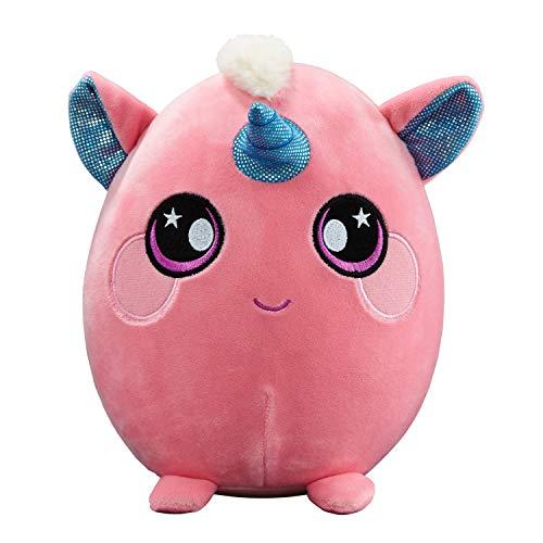 Squeezamals, 8 Plush, Unicorn - Super-Squishy Foam Stuffed Animal! Squishy, Squeezable, Cute, Soft, Adorable!