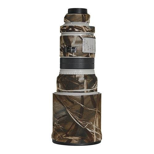 LensCoat Lens Cover for Canon 300IS f/2.8 camouflage neoprene camera lens protection sleeve (Realtree Max4 HD) by LensCoat
