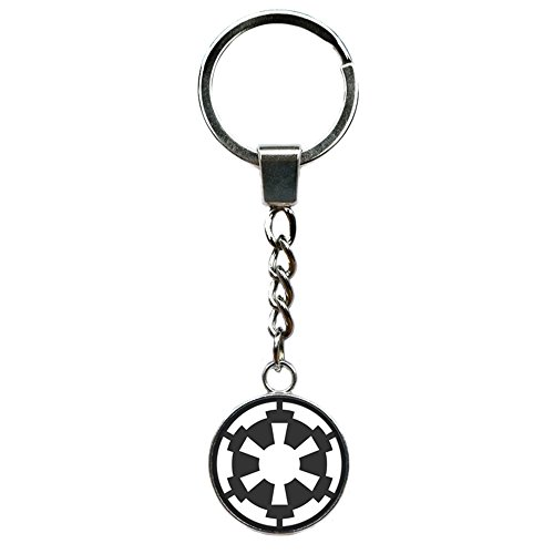 Enamel Mango (Athena Brand Star Wars Imperial Enamel Movie Key Ring Keychain for House Boat Auto Keys)