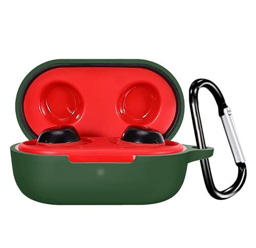 Silicone Protection Case / Tough Cover Case Compatible with Boat 441 TWS /Case Cover for Boat Airdopes 441 Wireless Headset Headphones Earphone(Device Not Included) (Green)
