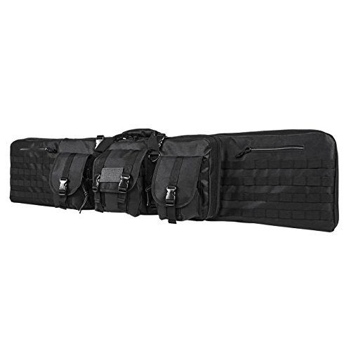 (NC Star CVDC2946B-55 Double Carbine Case, 55