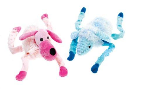 Classic Pet Products Long Leg Plush Toy, Blue