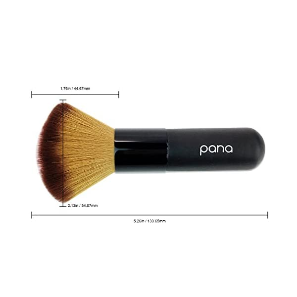 Pana Super Soft Professional Premium Quality Comestic Powder Blush Brush for Face Makeup Appliance For Lady Woman. Also…
