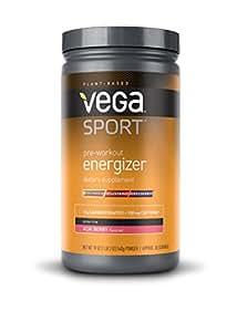 Vega Sport Pre-Workout Energizer, Acai Berry, 19oz, 30 Servings