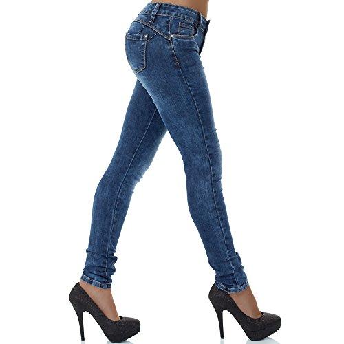 Azul malucas mujer Vaqueros skinny para wTgTZq0I
