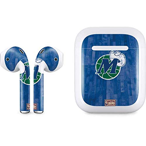Skinit Dallas Mavericks Hardwood Classics Apple AirPods Skin - Officially Licensed NBA Audio Decal - Ultra Thin, Lightweight Vinyl Decal Protection
