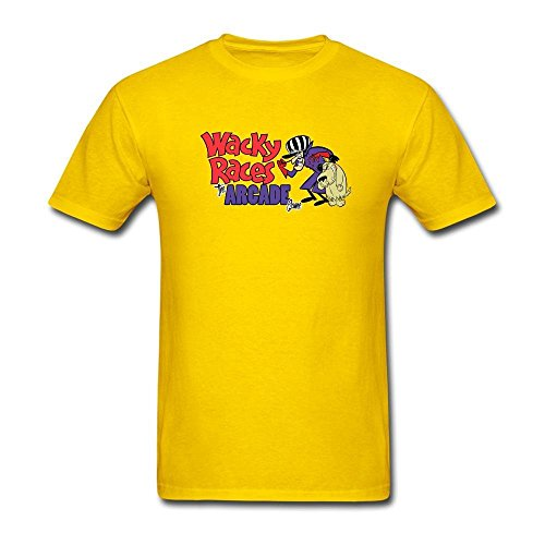 STROFA Men's Wacky Races Short Sleeve T Shirt
