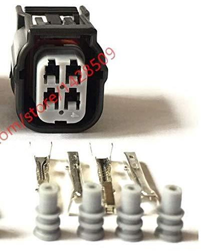 Hvg Series - Davitu 50/100 Sets Sumitomo HV/HVG Series 040 O2 Sensor Automotive Connector 4 Pin Female Waterproof Socket Plug 6189-7039 - (Package: 50 Sets)