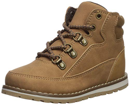The Children's Place Boys Fashion Boot, Tan, TDDLR 6 Regular US Toddler (Best Place For Toddler Shoes)