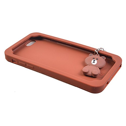 COOLKE Moda 3D Lovely Cartoon Suave Silicona Funda Carcasa Tapa Case Cover para Apple iPhone 6 6s (4.7) - 020 013