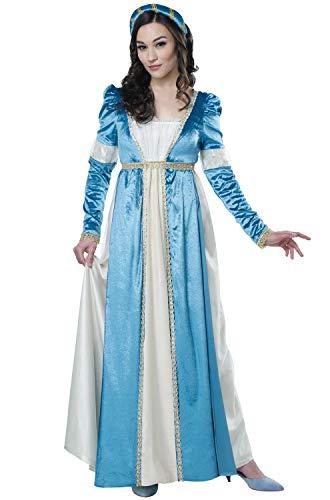 California Costumes Women's Juliet - Adult Costume Adult Costume,  -Blue/Cream, X-Small -