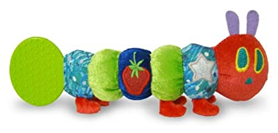 The World Of Eric Carle The Very Hungry Caterpillar Teether Rattle By Kids Preferred by Kids Preferred