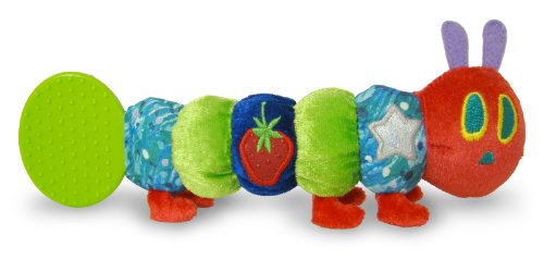- The World of Eric Carle, The Very Hungry Caterpillar Teether Rattle, 10