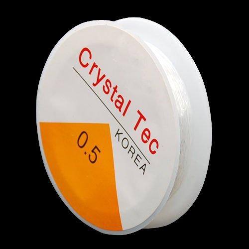 Gleader 18 M Rocchetto di filo Cristallino Forte & elastica 0, 5 millimetri