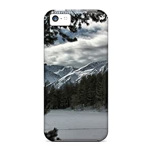 New Arrival Case Specially Design For Iphone 5c (snow Mountain View Hd)