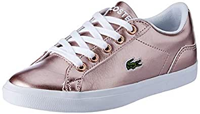 Lacoste Lerond 119 4 Fashion Shoes, PNK/WHT, 3 US