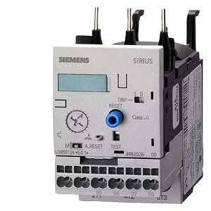 Siemens 3 RB20 26- 1 SD0 Solid State Overload Relay, Class 10, S0 Contactor Size, 3-12A Set Current Value