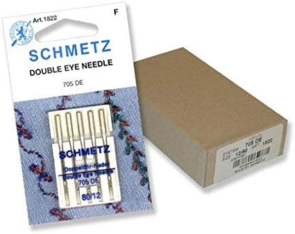 Schmetz Topstitch Sewing Machine Needles System 130//705 Package of 5