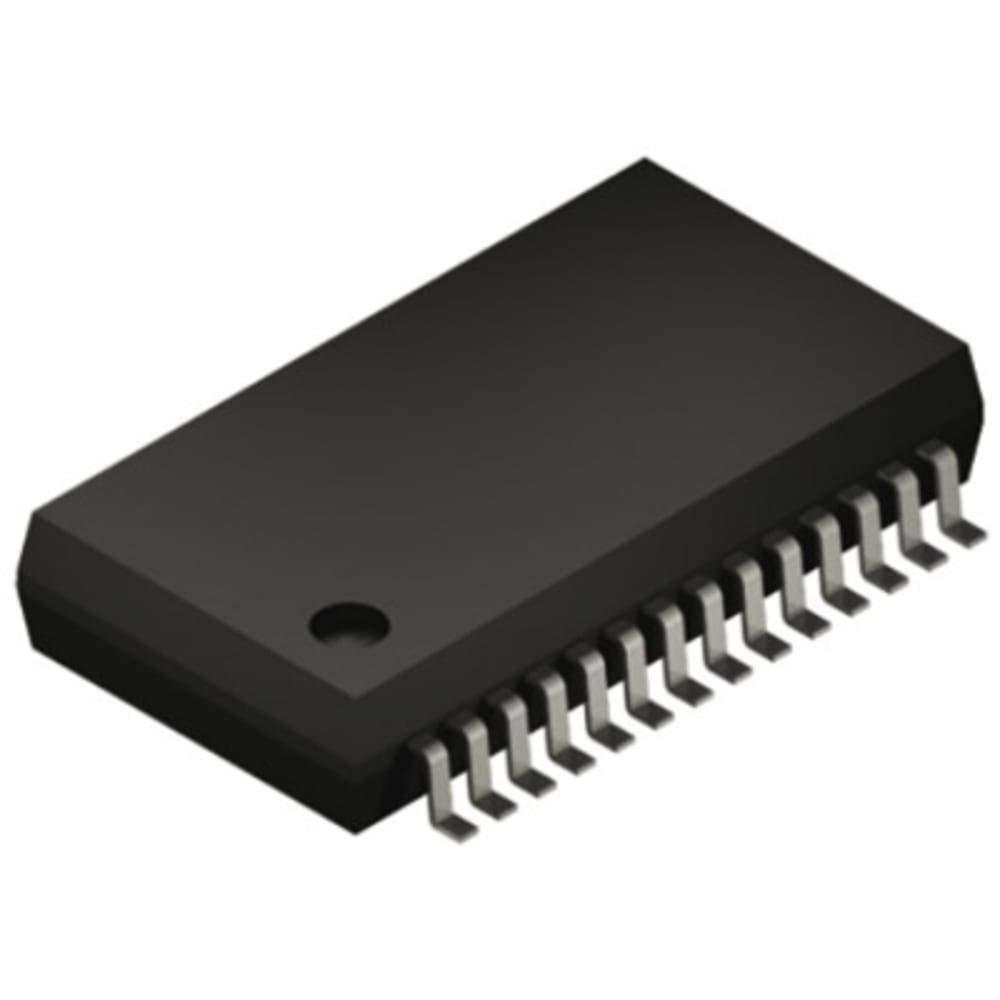 MCU 8-bit PIC16 PIC RISC 28KB Flash 3.3V/5V Automotive 28-Pin SSOP Tube, Pack of 20