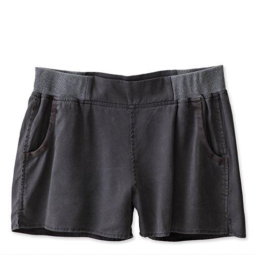 KAVU Women's Riverbank Shorts, Black, Medium